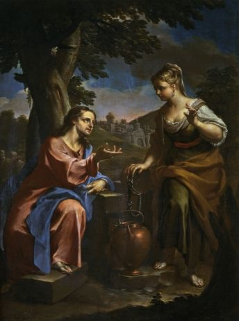 Trevisani, Christ and the Samaritan Woman at the Well
